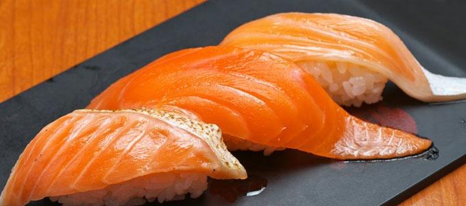 サーモンの寿司