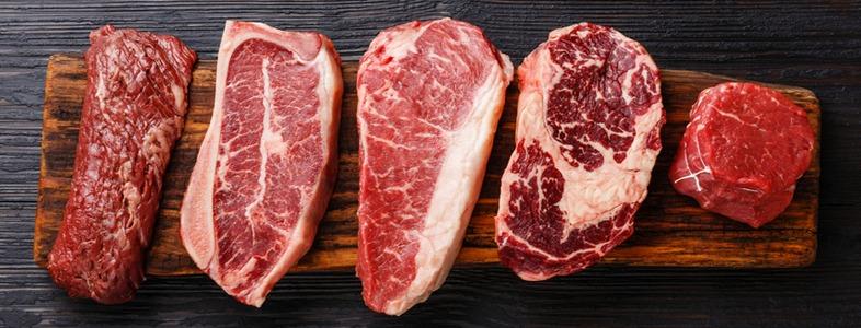 タンパク質を多く肉