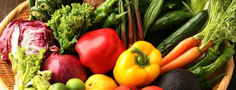 50度洗いで野菜の鮮度が蘇る