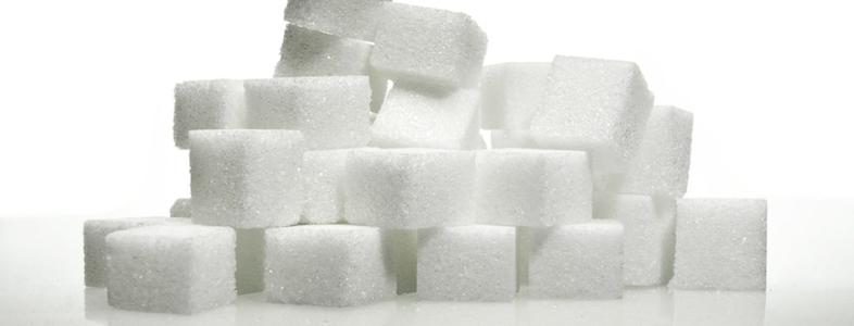固まった砂糖