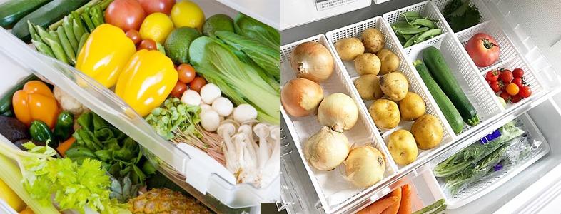 野菜の最適な保存方法は常温、冷凍、冷蔵?人参やたまねぎ、大根など鮮度を保つテクニック