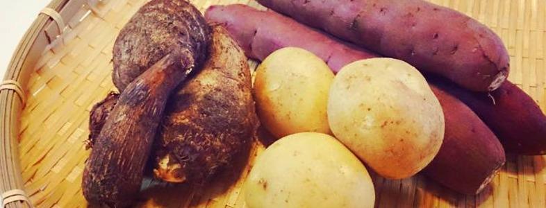 ジャガイモやさつまいもなどの芋類