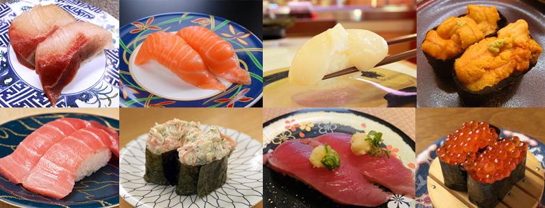 原価率の高い寿司ネタベスト10
