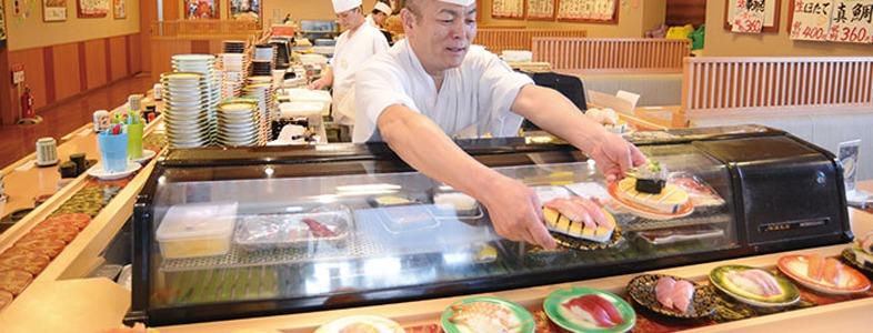 安くてうまい寿司が出せる回転寿司の2つの理由